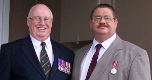 ANZAC Day, 2009. Father and Son