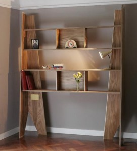A bookcase that becomes a coffin, I want one!